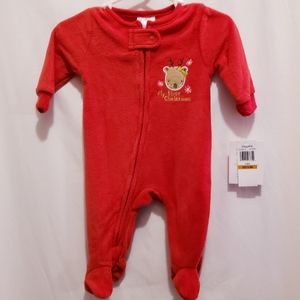Absorba Baby's First Christmas - Size 0-3M